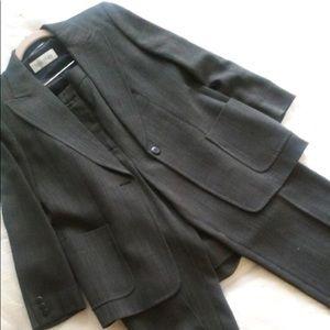 Max Mara Crop Pant Suit